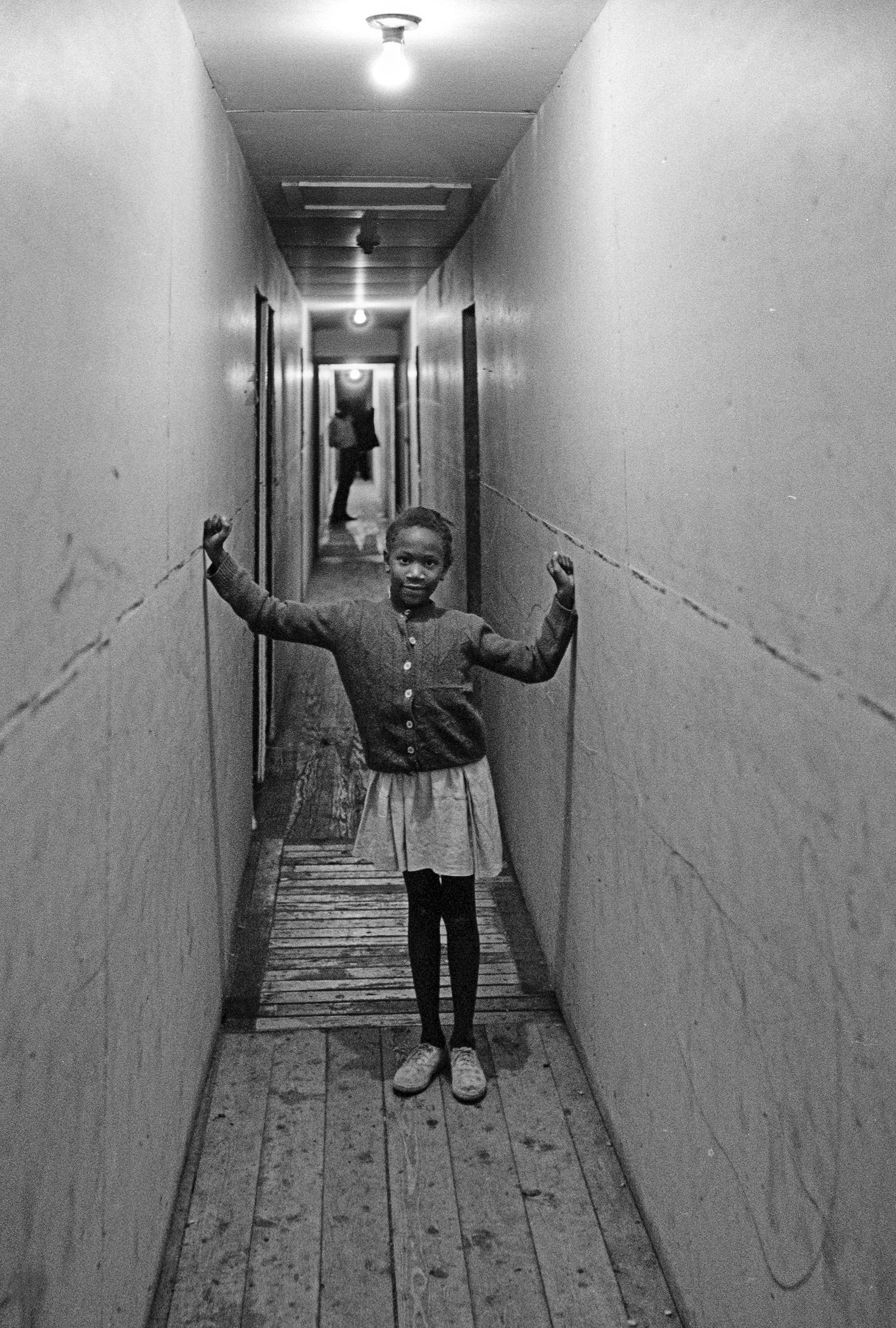 narrow hall girl